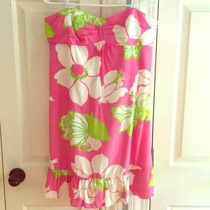 Lilly Pulitzer pink Hawaiian dress